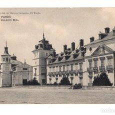 Postales: EL PARDO .( MADRID).- PALACIO REAL. Lote 140870486