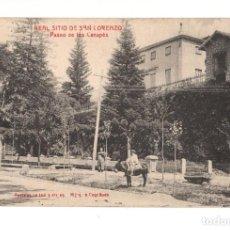 Postales: REAL SITIO DE SAN LORENZO DEL ESCORIAL.- REAL SITIO DE SAN LORENZO. Lote 140871514