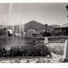 Postales: SAN MARTIN DE VALDEIGLESIAS.(MADRID).- PLAZA DE LA IGLESIA . FUENTE. Lote 140880954