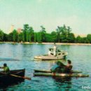 Postales: MADRID, LAGO DE LA CASA DE CAMPO, EDITADA EN 1960. Lote 165035496