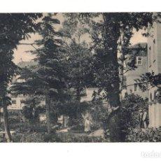 Postales: MADRID.- HOSPITAL DE LA VENERABLE ORDEN TERCERA DE SAN FRANCISCO DE ASIS. UNA VISTA DE LOS JARDINES. Lote 140891134
