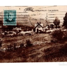 Postales: CERCEDILLA (MADRID).- LAS PRADERAS. Lote 140977662