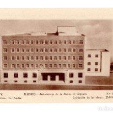 Postales: MADRID.- AMBULATORIO DE LA RONDA DE SEGOVIA ININC. OBRAS 25-8-50 ARQ. SR. ZAVALA. Lote 141189326