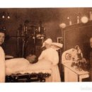 Postales: MADRID.- HOSPITAL MILITAR DE MADRID. RAYOS X. APARATOS. Lote 141199566