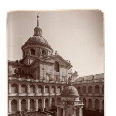 Postales: EL ESCORIAL .( MADRID).- SAN LORENZO DE EL ESCORIAL. JARDINES. FOTOGRAFICA. Lote 141220666