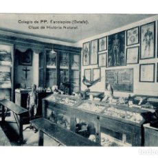 Postales: GETAFE.(MADRID). COLEGIO DE PP. ESCOLAPIOS. CLASE DE HISTORIA. Lote 141316246