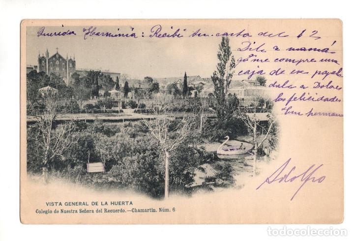 MADRID.- COLEGIO NUESTRA SEÑORA DEL RECUERDO. CHAMARTIN. VISTA GENERAL DE LA HUERTA (Postales - España - Comunidad de Madrid Antigua (hasta 1939))