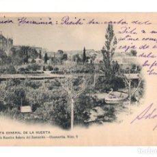 Postales: MADRID.- COLEGIO NUESTRA SEÑORA DEL RECUERDO. CHAMARTIN. VISTA GENERAL DE LA HUERTA. Lote 141316694