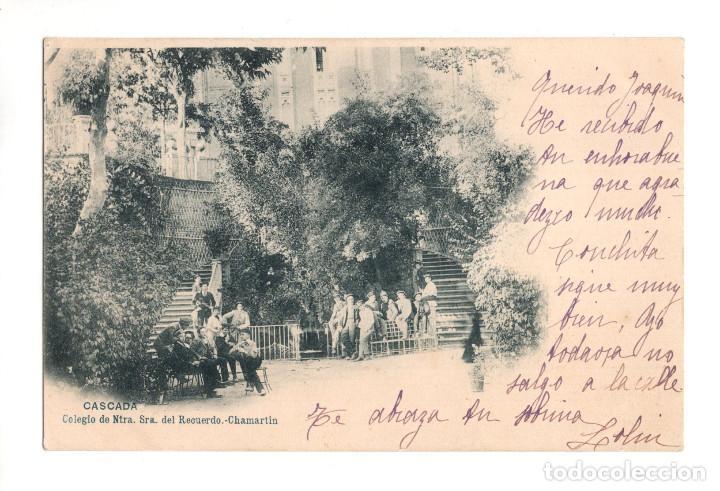 MADRID.- COLEGIO NUESTRA SEÑORA DEL RECUERDO. CHAMARTIN. CASCADA (Postales - España - Comunidad de Madrid Antigua (hasta 1939))
