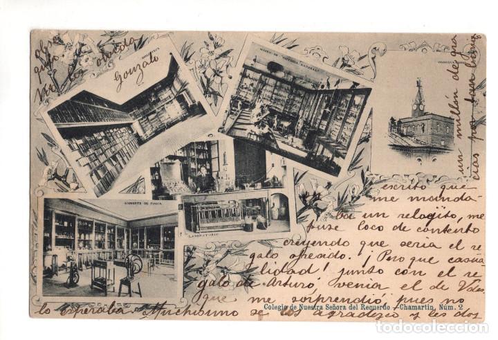 MADRID.- COLEGIO NUESTRA SEÑORA DEL RECUERDO. CHAMARTIN. (Postales - España - Comunidad de Madrid Antigua (hasta 1939))