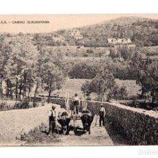 Postales: CERCEDILLA.(MADRID).- CAMINO GUADARRAMA. Lote 141606762