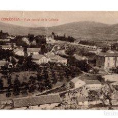 Postales: CERCEDILLA (MADRID).- VISTA PARCIAL DE LA COLONIA. Lote 141645930