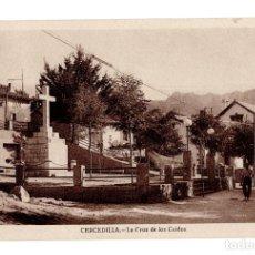 Postales: CERCEDILLA (MADRID).- LA CRUZ DE LOS CAIDOS. Lote 141646374