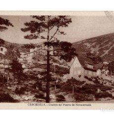Postales: CERCEDILLA (MADRID) - CHALETS DEL PUERTO DE NAVACERRADA. Lote 141647542