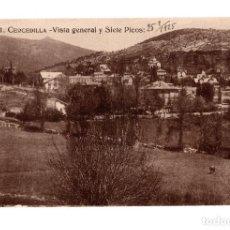 Postales: CERCEDILLA.( MADRID).- VISTA GENERAL Y SIETE PICOS. VER FOTOS. Lote 141655830