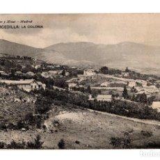 Postales: CERCEDILLA (MADRID).- LA COLONIA. Lote 141665598