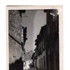 Postales: CADALSO DE LOS VIDRIOS (MADRID).- CALLE DE CAPITÁN AGUDÍN. Lote 141701398