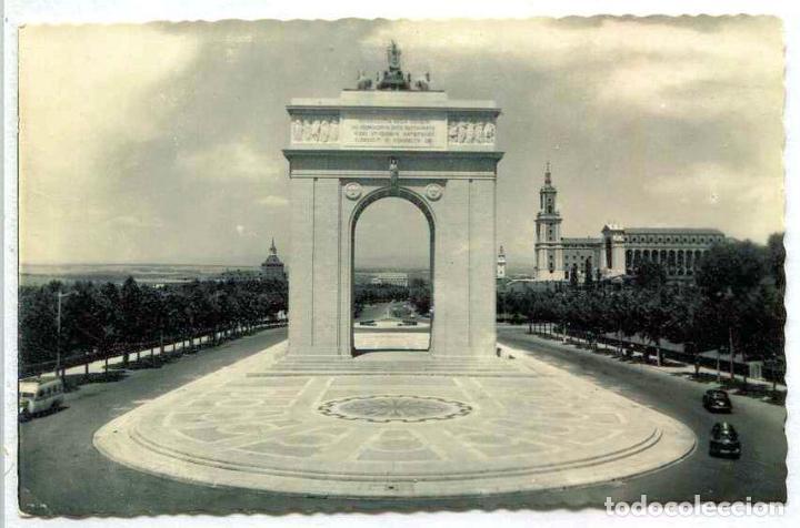 Tarjeta Postal Fotografica Madrid Arco Del Comprar Postales De