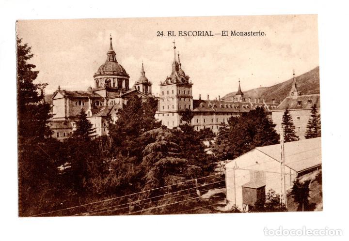EL ESCORIAL.(MADRID).- MONASTERIO DEL ESCORIAL. (Postales - España - Comunidad de Madrid Antigua (hasta 1939))