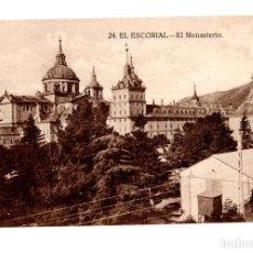 Postales: EL ESCORIAL.(MADRID).- MONASTERIO DEL ESCORIAL. . Lote 141821562