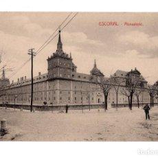 Postales: EL ESCORIAL.(MADRID).- MONASTERIO DEL ESCORIAL. . Lote 141821830