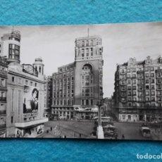 Postales: MADRID. PLAZA DEL CALLAO. AÑOS 60.. Lote 141904074