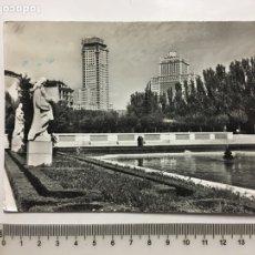 Postales - POSTAL. MADRID. JARDINES DE SABATINI. FOTO J. CEBOLLERO. H. 1960? - 142174374