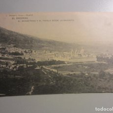 Postales: POSTAL EL ESCORIAL ( MADRID ). Lote 142631586