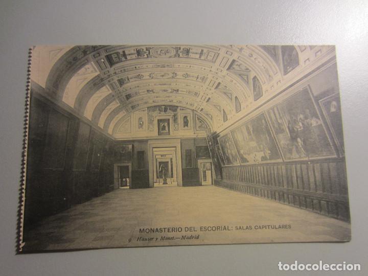 POSTAL EL ESCORIAL ( MADRID ) (Postales - España - Madrid Moderna (desde 1940))