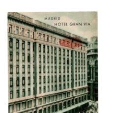 Postales: MADRID.- HOTEL GRAN VIA. AVENIDA DE PI Y MARGALL. Lote 142775438