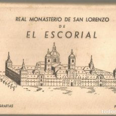 Postales: POSTALES REAL MONASTERIO SAN LORENZO EL ESCORIAL POSTAL 1958 1ª SERIE ED MANIPEL RTRO NE NC. Lote 142800394