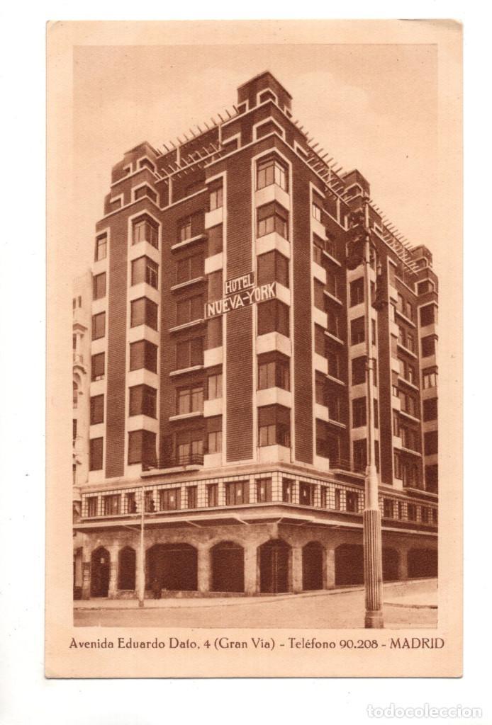 Madrid Avenida Eduardo Dato Gran Vía Hotel Comprar Postales