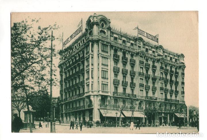 MADRID.- HOTEL DEL MEDIODIA - CON PUBLICIDAD (Postales - España - Comunidad de Madrid Antigua (hasta 1939))