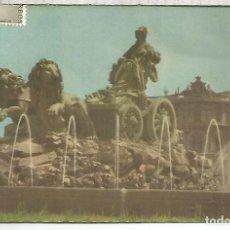 Postales: MADRID CIBELES ESCRITA. Lote 142906930