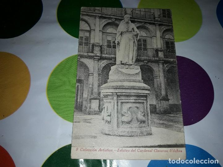 Estatua Del Cardenal Cisneros Vilches Colecci Comprar Postales