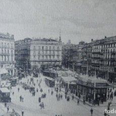 Postales: MADRID - PUERTA DEL SOL. Lote 143148966