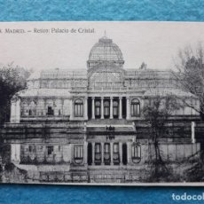 Postales: MADRID. RETIRO. PALACIO DE CRISTAL.. Lote 143185214