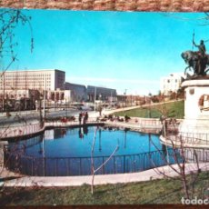 Postales: MADRID - MONUMENTO A ISABEL LA CATOLICA Y MINISTERIOS. Lote 143379550