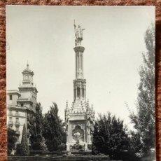Postales: MADRID - MONUMENTO A COLON - EDICIONES MOLINA. Lote 143379666