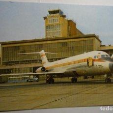 Postales: POSTAL MADRID -AEROPUERTO BARAJAS -CIRCULADA. Lote 143548014