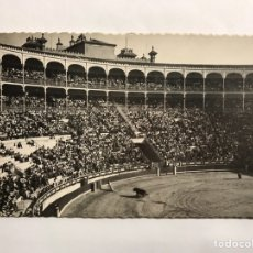 Postales: MADRID. POSTAL NO.91, PLAZA DE TOROS. EDITA: DOMÍNGUEZ (A.1952). Lote 143574002