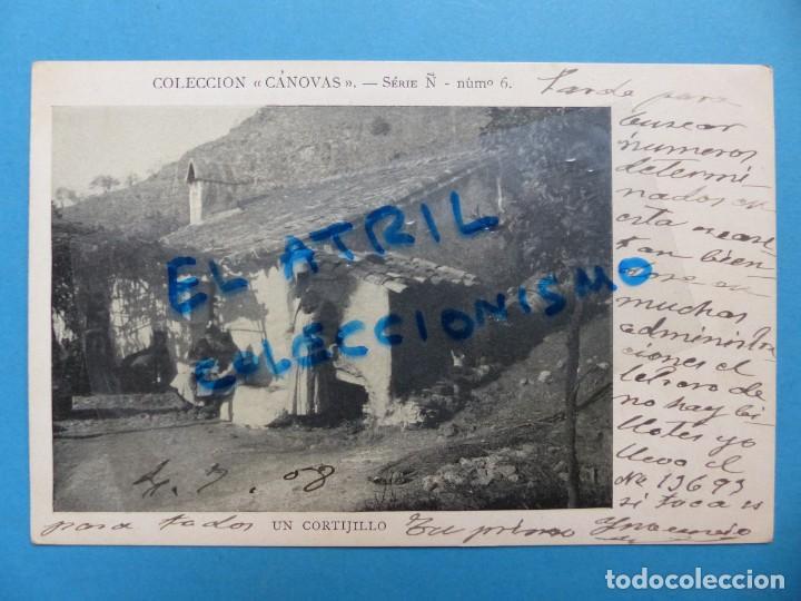 UN CORTIJILLO - COLECCION CANOVAS, SERI Ñ - NUMERO 6 (Postales - España - Comunidad de Madrid Antigua (hasta 1939))