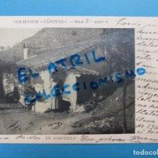 Postales: UN CORTIJILLO - COLECCION CANOVAS, SERI Ñ - NUMERO 6. Lote 143599578