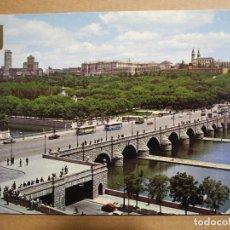 Postales: MADRID. PUENTE DE SEGOVIA Y RÍO MANZANARES. N.137 ED. DOMINGUEZ. NUEVA SIN CIRCULAR. Lote 145389994