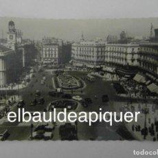 Postales: POSTAL DE LA PUERTA DEL SOL DE MADRID. EDICIONES GARCIA GARRABELLA ZARAGOZA Nº 2. SIN CIRCULAR. Lote 145463754