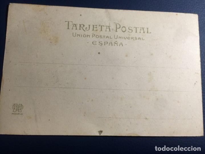 Postales: CARROZA DE S.M. DON ALFONSO XIII. Fot. H. Leyden. Fiestas Reales en Mayo 1902. Num 3. SIN CIRCULAR - Foto 2 - 145707574
