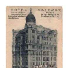 Postales: MADRID.- HOTEL PALOMAR.. Lote 146084606