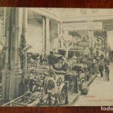 Postales: POSTAL DE MADRID, 1º SALÓN DEL AUTOMOVIL. MAYO 1907. FOT. LACOSTE. CIRCULADA. REVERSO DIVIDIDO.. Lote 146440550