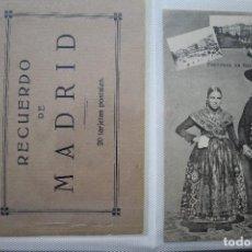 Postales: 112 POSTALES ANTIGUAS DE MADRID VER FOTOS. Lote 146533558