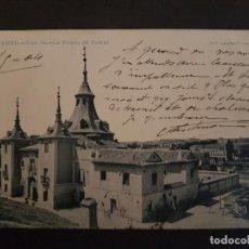 Postales: MADRID LA VIRGEN DEL PUERTO ED. LAURENT REVERSO SIN DIVIDIR. Lote 146942258